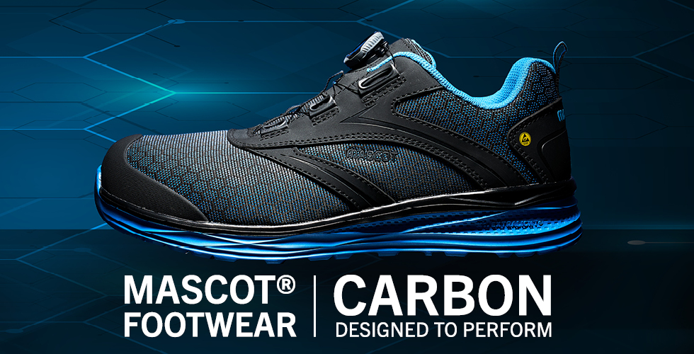 2020 - MASCOT® FOOTWEAR CARBON | Designed to Perform-Skyddsskor (låga)-BOA® Fit System, F0251-909