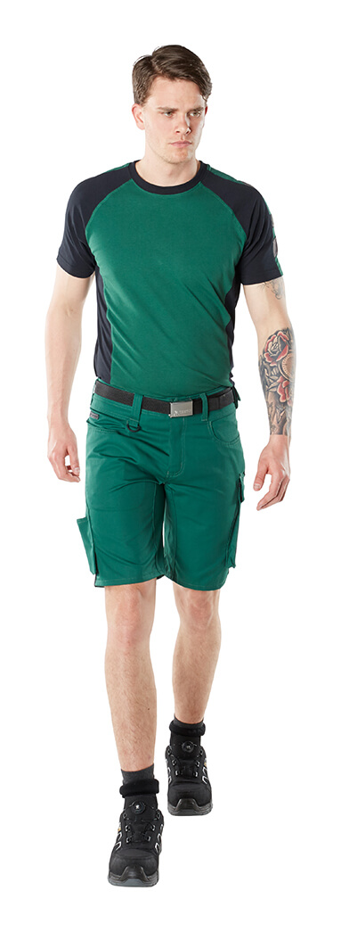 Shorts & T-shirt - Grön - Man
