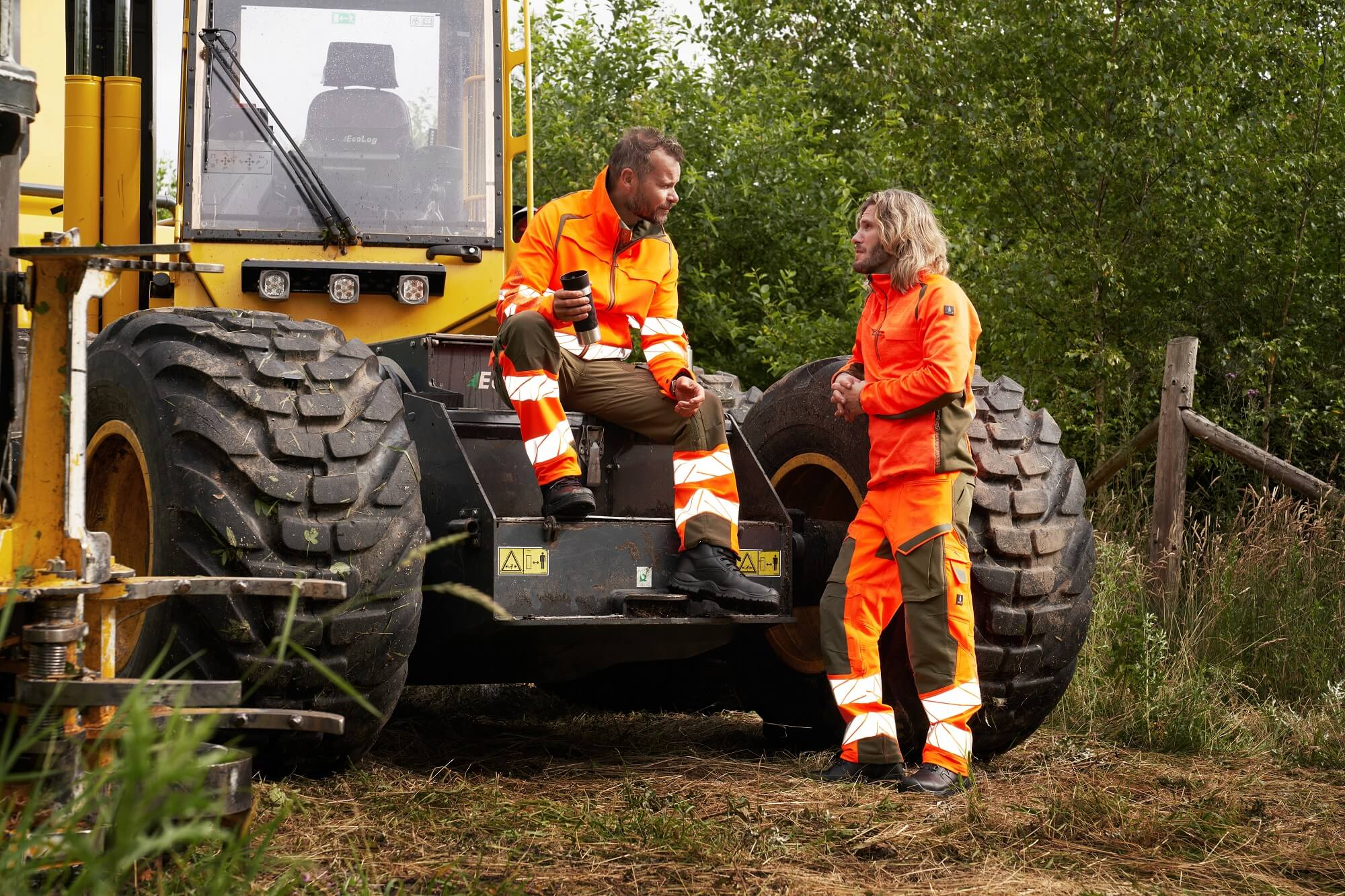 Varselkläder - Skogsbruk - MASCOT® ACCELERATE SAFE Hi-vis orange