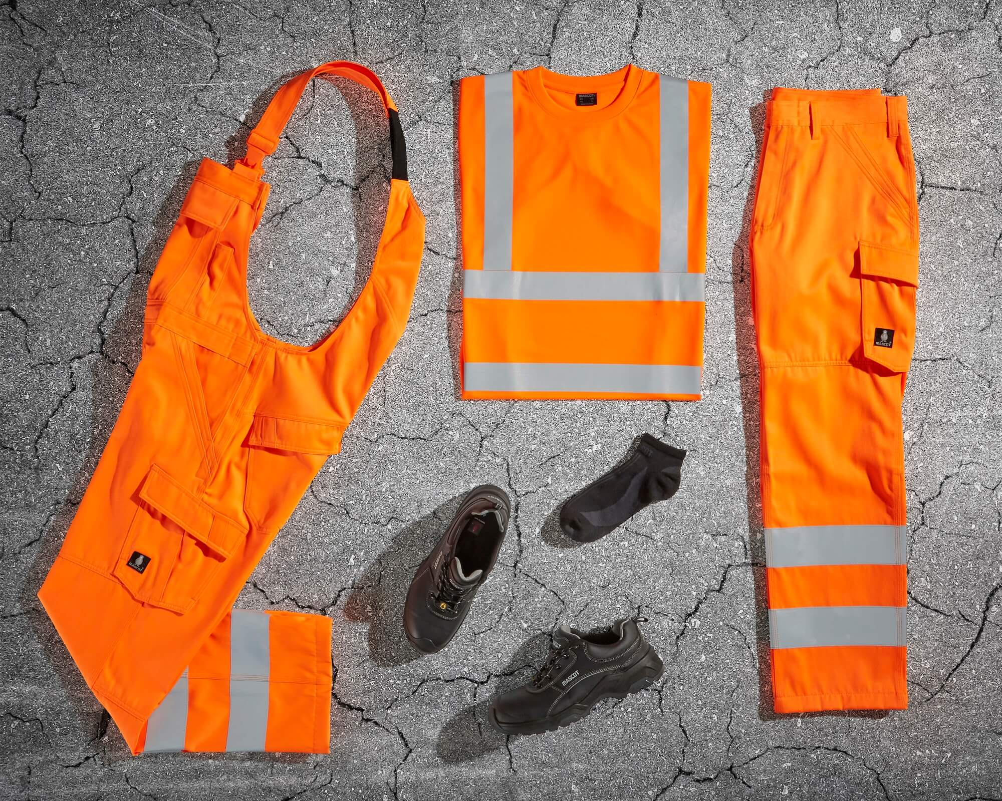 MASCOT® SAFE LIGHT - Hi-vis orange - Skyddskläder
